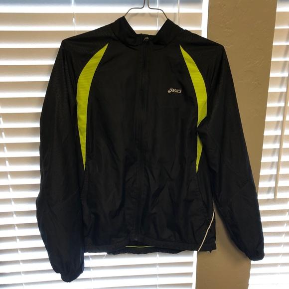 NWT ASICS Hypergel Jacket Outerwear Blac